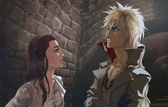 It's been such a long time since the last time I've made a drawing of Jareth! I missed him too much, I could'nt resist... Jareth belongs to Jim henson
