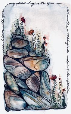 Abstract Illustration, Ink Illustrations, Abstract Watercolor, Watercolor And Ink, Watercolor Paintings, Watercolours, Abstract Oil, Abstract Paintings, Oil Paintings