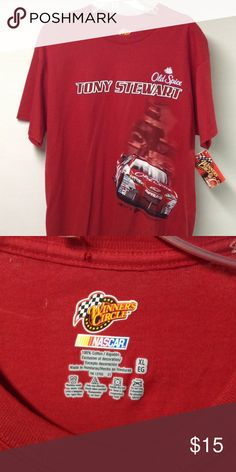 Tony Stewart NASCAR t-shirt New Shirts Tees - Short Sleeve