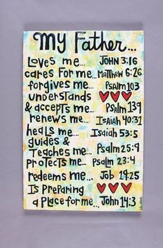 My Father Art Canvas by julieabbottart on Etsy The Words, Cs Lewis Quotes, Christian Quotes, Christian Women, My Father, Bible Quotes, Bible Scriptures, Gods Love, Just In Case
