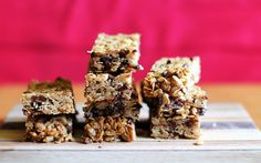 Chewy Chocolate Chip Homemade Granola Bars - This Week for Dinner