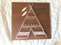 Teepee String Art- Tribal Decor