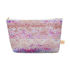Kess InHouse Everything Bag, Tapered Pouch, Marianna Tankelevich 'Broken Pattern' Pink Purple, 8.5 x 4 Inches (MT1019AEP03) ** Click image for more details. (Note:Amazon affiliate link)