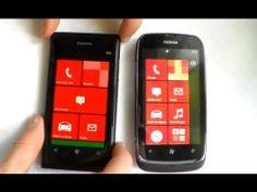 Nokia Lumia 610 vs Nokia Lumia 800 Porównanie