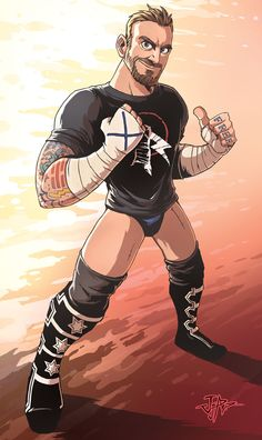 CM Punk artwork