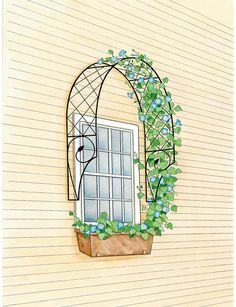Chateau Arbor and Trellis Set: This item has been discontinued, but it's great inspiration for a project!