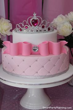 Stunning Princess birthday cake.