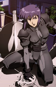 Major Motoko Kusanagi from Ghost in The Shell: Stand Alone Complex…