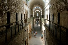 """PHILADELPHIA, PENNSYLVANIA EASTERN STATE PENITENTIARY World's first """"penitentiary,"""" meant to be humane, drove men insane"""