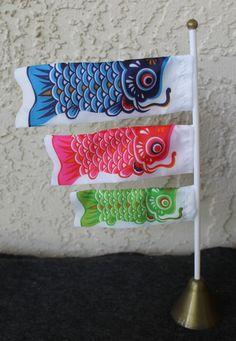 Japanese Carp Windsocks/Kites for 18 Inch by DaydreamersDollStore