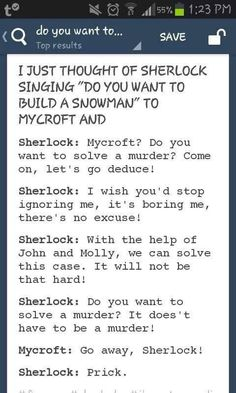 You're lying if you say you didn't sing this to the tune of the song. I am not a liar I totally sang this!