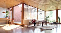 Finnish mid-century modernist residential architecture