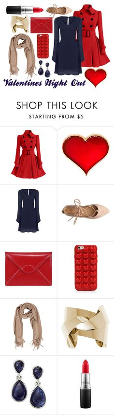 """""""V-day """"not so traditional"""""""" by worthen-ava on Polyvore featuring Lulu Guinness, Marc Jacobs, INC International Concepts, MAC Cosmetics, women's clothing, women, female, woman, misses and juniors"""