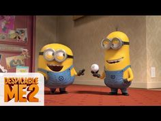 "Watch as the Minions sing and dance to Pharrell's hit song ""Happy"" Sing along with ""Happy"" by Pharrell Williams from the Despicable Me 2 Official Soundtrack!..."
