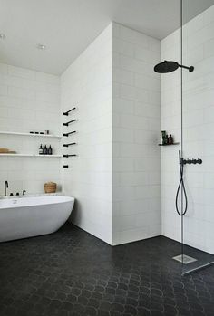 Below are the Ideas For Bathroom Minimalist Shower Design. This post about Ideas For Bathroom Minimalist Shower Design was posted … Minimalist Showers, Minimalist Bathroom, Modern Shower, Modern Bathroom, Classic Bathroom, Bathroom Interior Design, Interior Design Living Room, Interior Ideas, Small Bathroom Layout