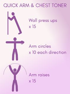 Quick upper body workout