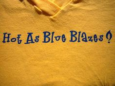 """This is what we, Southern girls, say in the midst of the summer, when it is as """"hot as blue blazes""""! giggles If you have never experienced humidity in the south...well, let's just say...you have never experienced humidity! giggles ~ mrp"""
