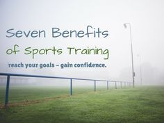 Seven Benefits of Sports Training