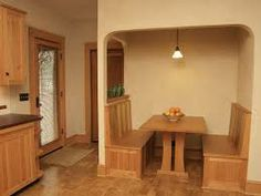 building an eating nook under stairs - Google Search
