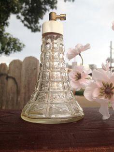 Vintage Perfume Bottle Glass on Etsy, $25.00
