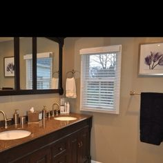 Check out our before and after bathroom remodel. Lifewithacrazypup.com by lottie