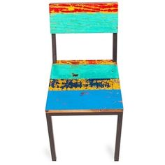 Shop for Gangway Multicolor Reclaimed Wood and Iron Dining Chair and more for everyday discount prices at Overstock.com - Your Online Furniture Store!