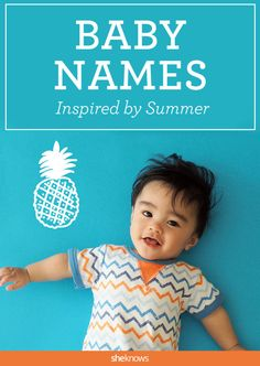 One of the American family's favorite summer pastimes is hanging out at the beach. From the water's gorgeous blue hues to the sea life within, the ocean provides countless baby names to consider. #Baby #Names