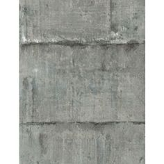 Industrial style wallpaper design in cement grey.