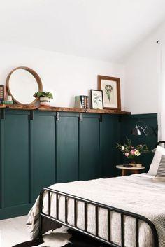 Bedroom Green, Home Bedroom, Diy Bedroom Decor, Diy Home Decor, Bedroom Furniture, Furniture Layout, Master Bedrooms, Bedroom Mirrors, Luxury Bedrooms