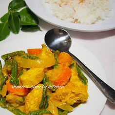 Ayam Phat Phet Thai Red Curry, Cooking Recipes, Medan, Ethnic Recipes, Food, Chef Recipes, Essen, Meals, Eten