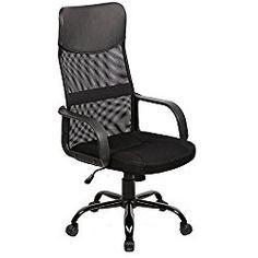 BestOffice Mid Back Mesh Ergonomic  Computer Desk Office Chair, Black