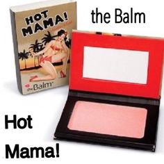 the Balm Hot Mama Blush, Shadow & Highlighter HOT MAMA • Three-in-one essentials: Smart shadow, beautiful blush and subtle highlighter in a go anywhere compact. This pinky-peach hue adds a splash of color to your cheeks, a hint of shimmer to your lids, while illuminating your finest features! A beauty product that multi-tasks, I love that!!Talc-Free, Oil-Free, Paraben-Free, Non Comedogenic, Cruelty-Free, and Made in the USA!! BNIB. Never used or swatched. 100% Authentic. Price Firm! No…