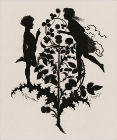 Illustrations to 1868 edition of Shakespeare's Midsummer night's dream. William Shakespeare, author. Paul Konewka, artist. Albert Vogel, printmaker.