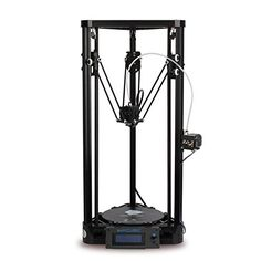Anycubic 3D printer DIY desktop suite delta size Kossel (Package five yellow) acc00154 Product parameters Printing principle: FDM (fused deposition modeling) Printing accuracy: 0.1-0.4MM Positioning accuracy: XYZ 0.01MM Print speed: 20-80mm/s Movement speed: 150M/S Nozzle diameter: 0.4MM Sprinkler head: single nozzle Supplies: PLA, ABS, NYLON, wood supplies, and so forth. Print volume: Phi 180*320MM phi 230*330MM line rail Plus Hot bed temperature Nozzle temperature: 275 C Ambient t..