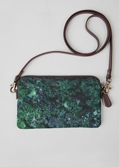 VIDA Leather Statement Clutch - water color eggs by VIDA mLA4a6
