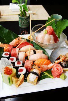 Fresh Sushi. Yum!
