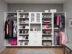 Walk In Closet Ideas for Your Family | RomanticHomeDesign.com