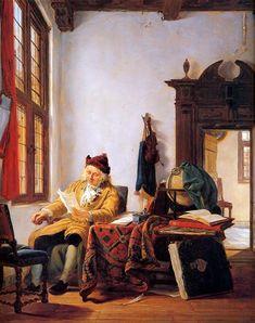 Merchant At A Table Near Window Abraham van Strij ← → www.wikiart.org