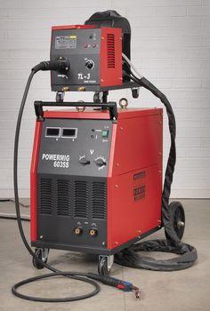 Professional MIG Welder 350Amp 415V with Binzel® Euro Torch POWERMIG6035S Sealey