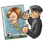 Indiana - United States - Caricature artists for parties and special events nationwide - About Faces Entertainment
