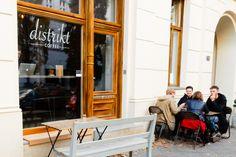 Distrikt Coffee in Berlijn
