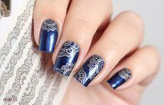 Nail Stamping, Pretty Nails, Manicure, Fashion Design, Beautiful, Beauty, Nail Bar, Cute Nails, Nails