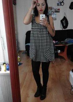 Kup mój przedmiot na #vintedpl http://www.vinted.pl/damska-odziez/krotkie-sukienki/10550296-sukienka-w-kratke-new-yorker