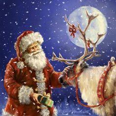 Santa and Dasher