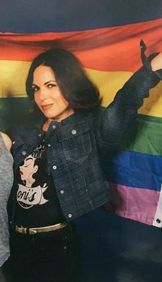 Once Upon A Time Funny, Once Up A Time, Regina Ouat, Lgbt, Ouat Cast, Spanish Actress, Swan Queen, Fashion Idol, Female Fighter