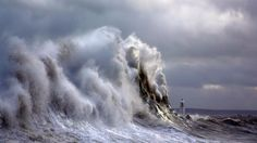 Ocean's Fury: Amazing Photos of a Lighthouse During Storms by Steve Garrington | The Weather Channel