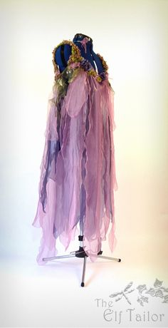 The Elf Tailor ~ Pink & Lilac Fairy Dress ~ Part of the Woodland Nymphs Costume Commission for New York Photographer Marque DeWinter
