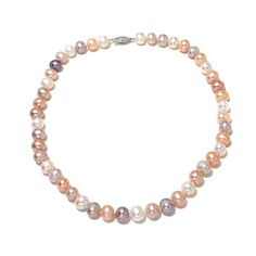 Imperial Pearls Multicolor Cultured Pearl Necklace
