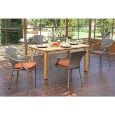 """Sitzgruppe """"Hawaii Flechtwerk"""" in zwei Farben - Ihr Online Shop für exklusive Gartenmöbel - #Garten #Moebel"""