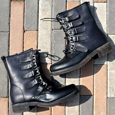 Stunning shoes now at #Nicci stores & online www.nicci.co.za  #boots #buckle #grunge